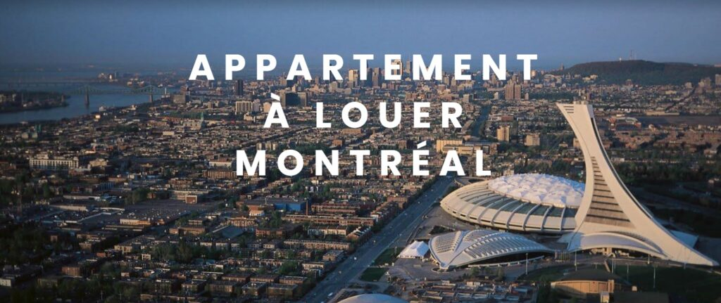Vue d'ensemble des appartements à louer à Montréal